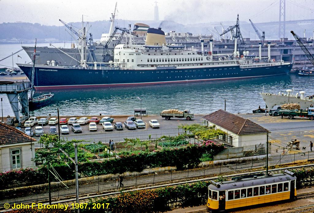 Porto de Lisboa (J.F. Bromley, 29/9/1967)