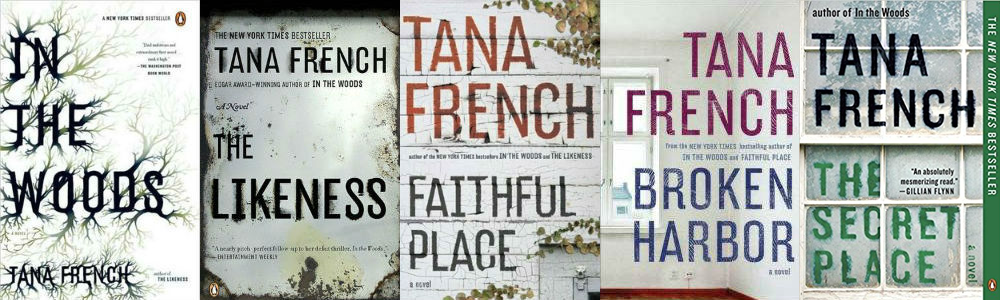 TanaFrench-covers