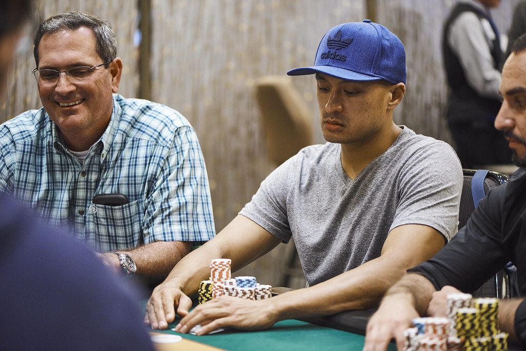 Two Players Come Out on Top in a Three-Way All-In, Then ...
