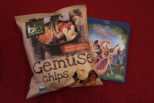 """Gemüse Chips (von bio Zentrale) zum Film """"Rapunzel – Neu verföhnt"""""""
