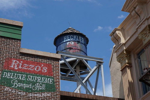 Disney's Hollywood Studios: PizzeRizzo Water Tower | by Disney, Indiana