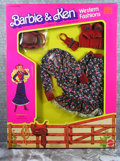 1981 Barbie Western fashion 3582 (2)