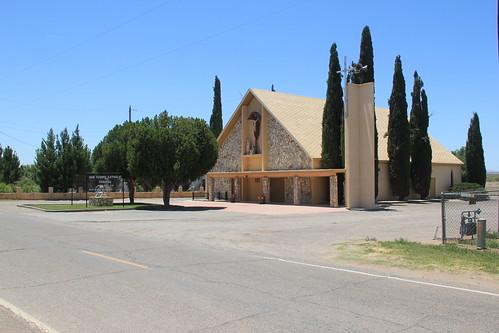San Isidro Catholic Church, Garfield, NM
