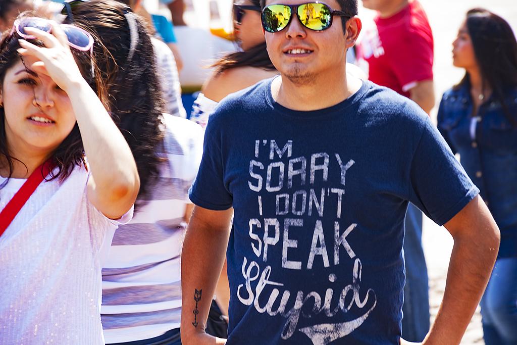 I'M SORRY I DON'T SPEAK STUPID--Tepotzotlan
