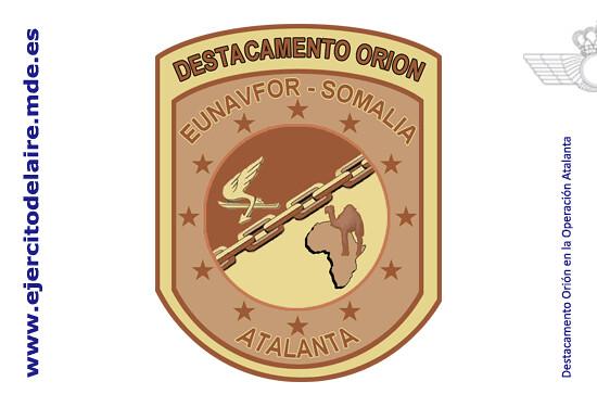 Emblema operación Atalanta