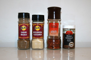 14 - Zutat Gewürze / Ingredient seasonings
