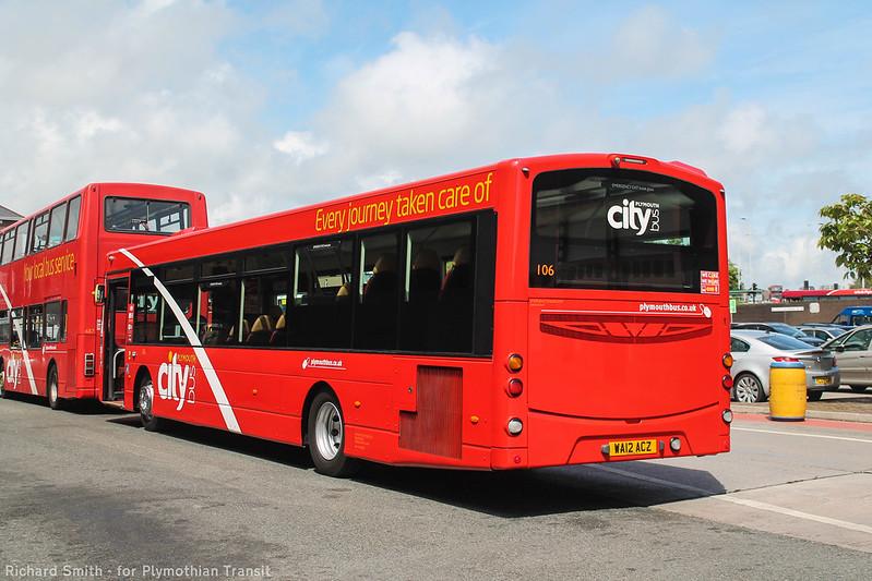 Plymouth Citybus 106 WA12ACZ