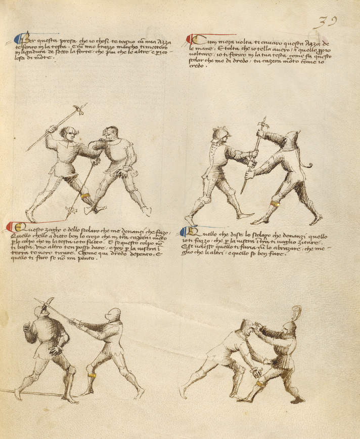 Combat with Pollaxe
