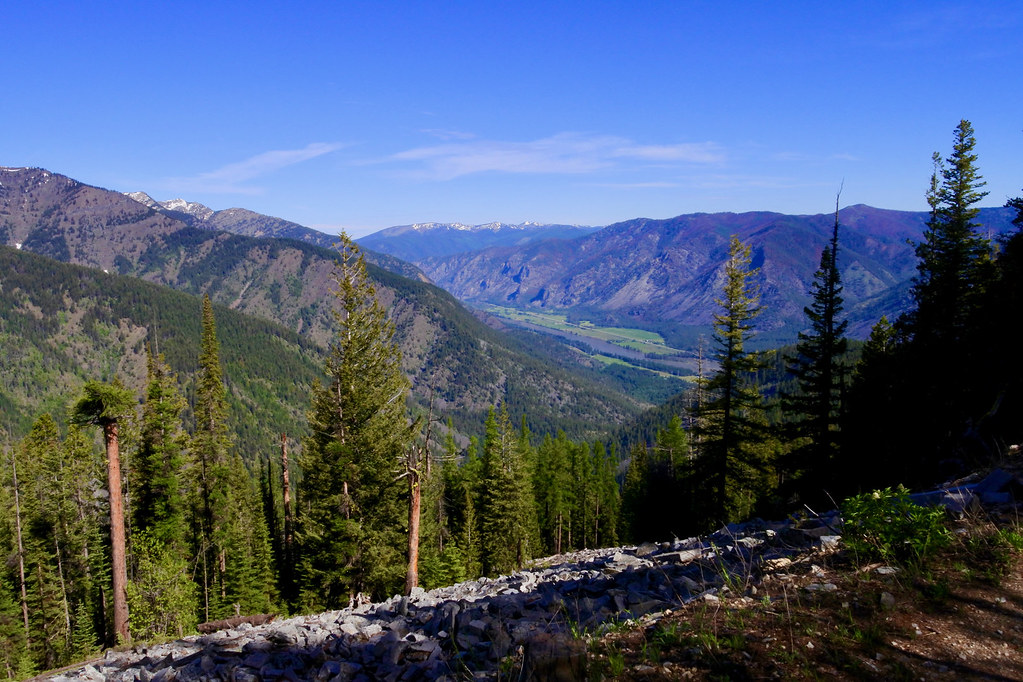 Eddy Creek Canyon meeting the Clark FOrk Valley