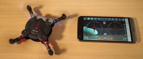 Gudriausias kišeninis dronas (beveik)