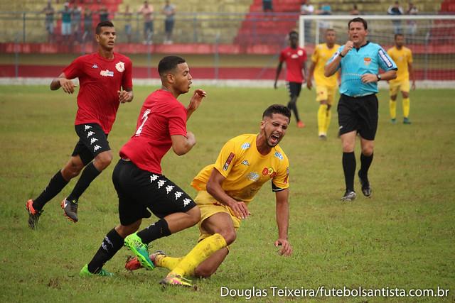 Real Cubatense 1 x 0 Jabaquara, partida válida pela primeira rodada do returno do Campeonato Paulista da Segunda Divisão