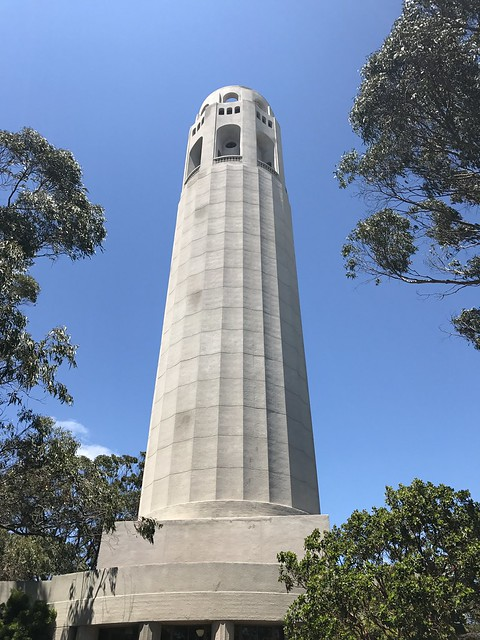 Visiting The Top Of Coit Tower Mrericsir Com
