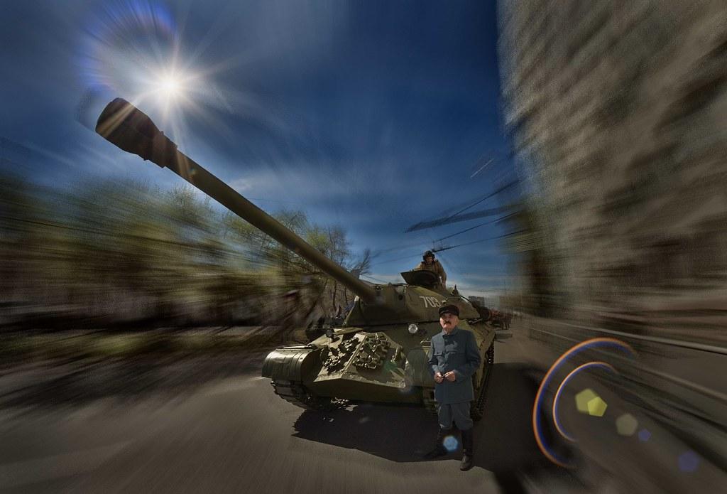 Тяжелый танк второй мировой войны ИС-3 - фотограф Челябинск