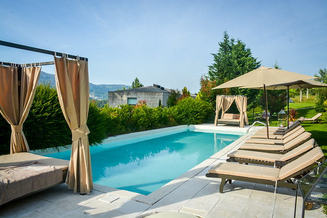Pool At Carmo's Boutique Hotel Portugal