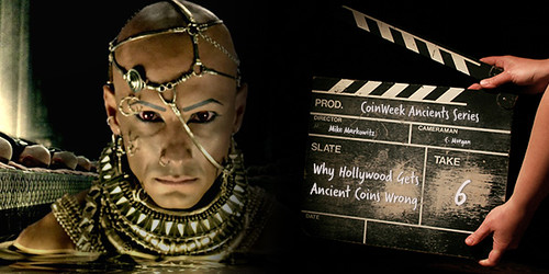 ANCIENT COINS AND HOLLYWOOD'S HISTORIC BLUNDERS