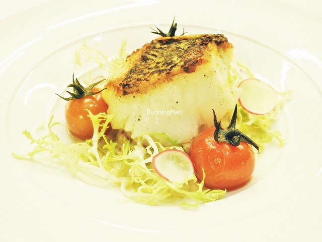 Black Cod With Caramelized Celeriac And Lemon Capers