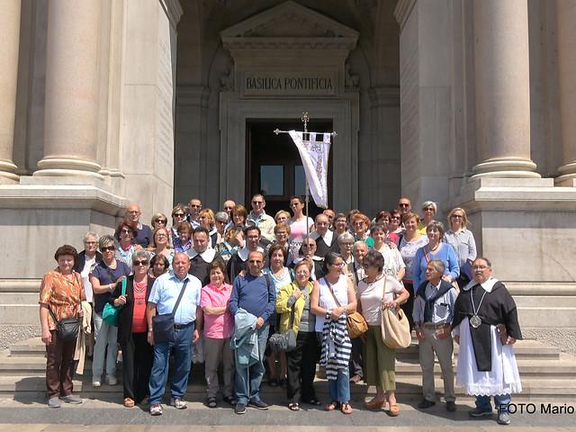 pellegrini a Pompei