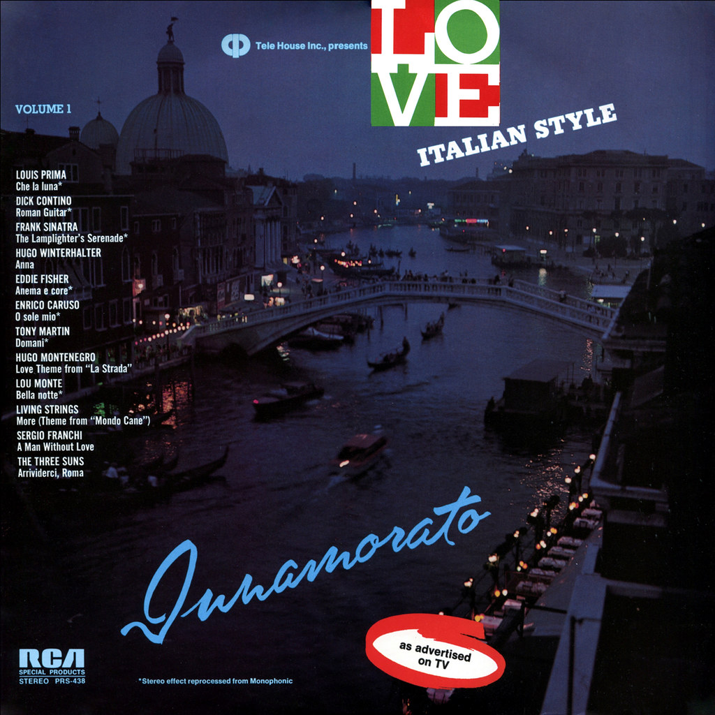 Tele House Inc - Tele House Presents Love Italian Style