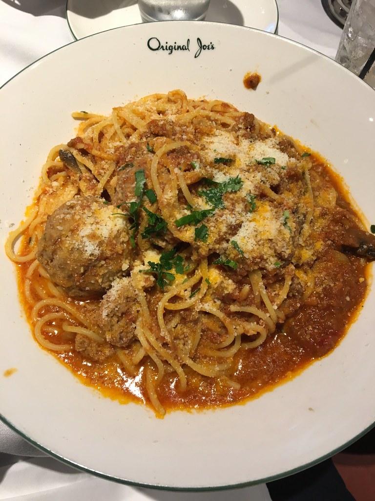 Spaghetti & Meatballs at Joe's