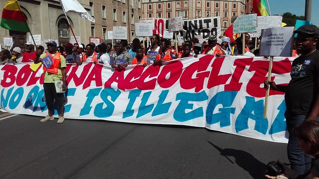 Bologna accoglie - No one is illegal