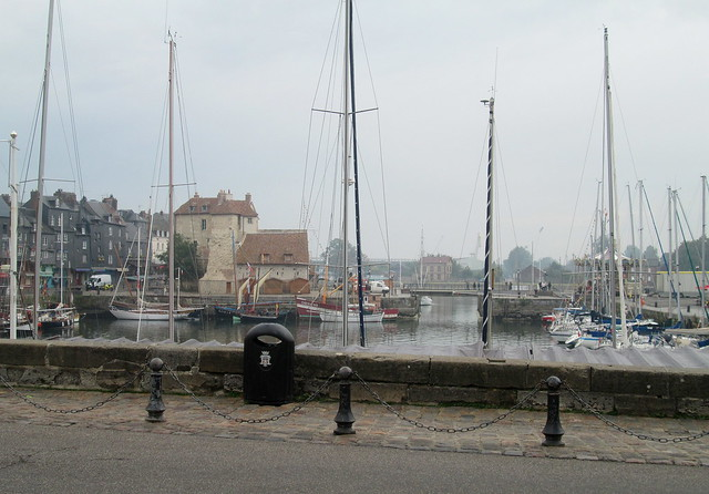 Honfleur Harbour From the Town