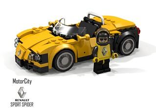 MotorCity Renault Sport Spider