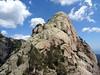 Punta Malanda face W avec la voie de montée