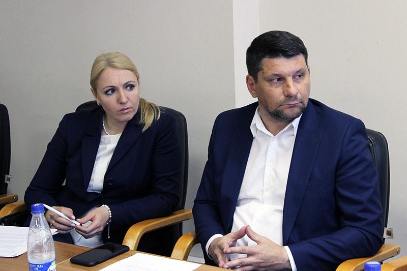 Евгения Игнатова, Андрей Филин (АРИА-АиФ)