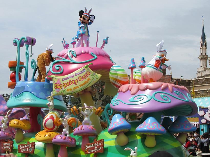 Tokyo Disneyland Spring Parade