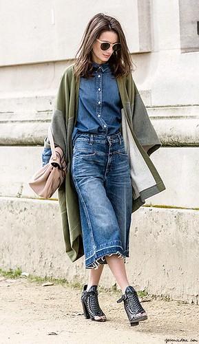 saia midi jeans 11