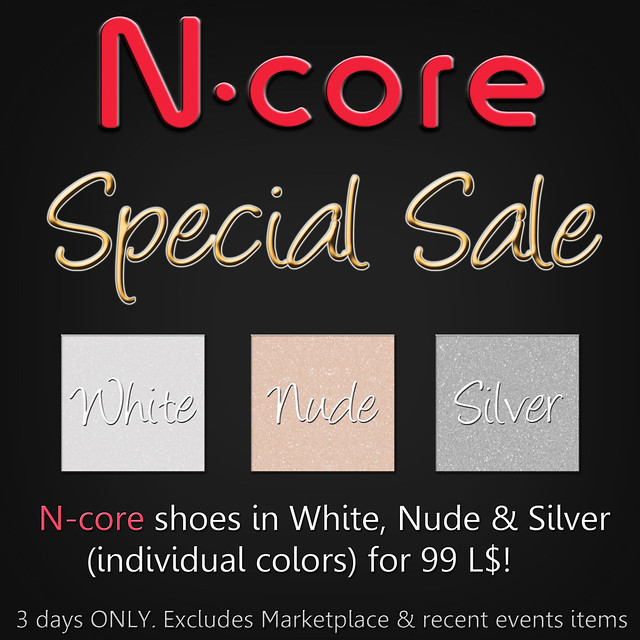 N-core Special SALE (3 days only!)