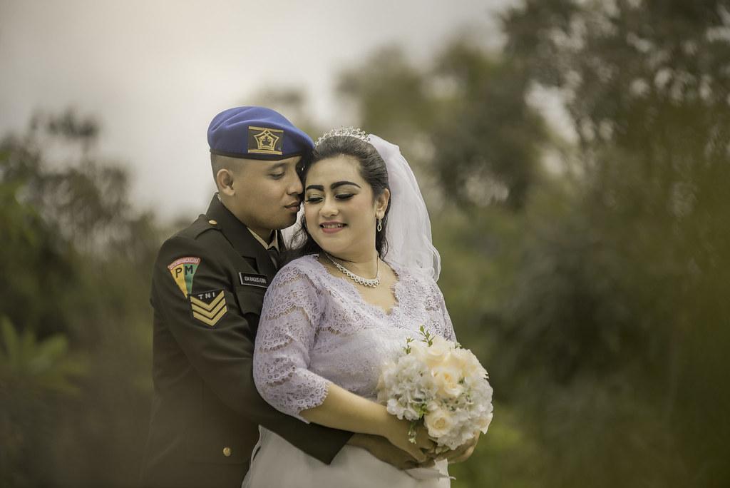Photo prewedding murah di Bali paket dengan rias bridal dan tradisional