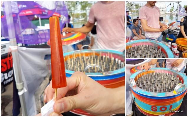 Thai Iced Tea Popsicle