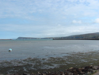 A view of the harbour at Goodwick, Fishguard