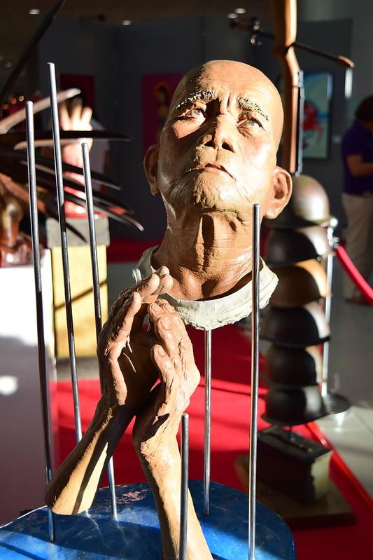 'Last Repent' sculptural work by Matthius Garcia