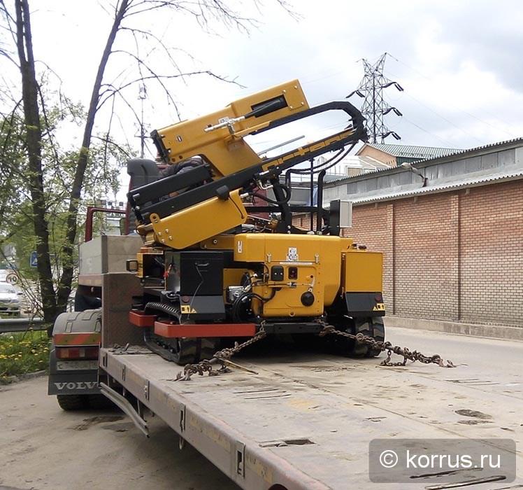 Отгружена самоходная сваебойная машина ORTECO «BTP HEAVY DUTY» Покупателю из Ростовской области