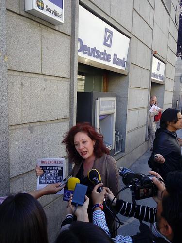 Manifestacion contra asesinato de periodistas