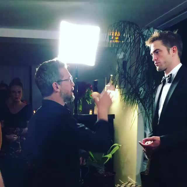 Robert Pattinson  GALA Croisette Magazine Photoshoot (BTS) #cannes2017