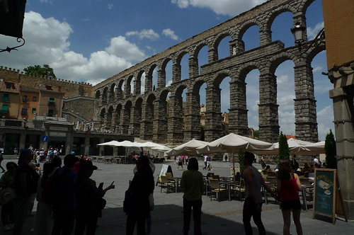 Roman Aqueduct - Segovia, Spain