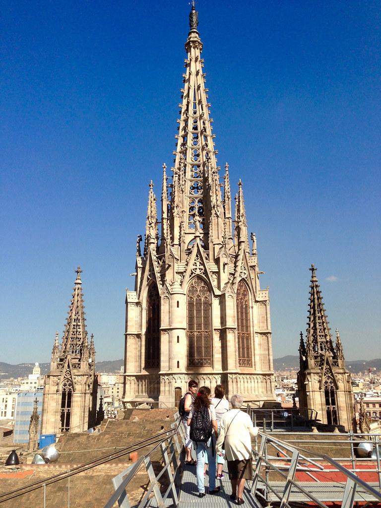 Barcelonan katedraalin katolla