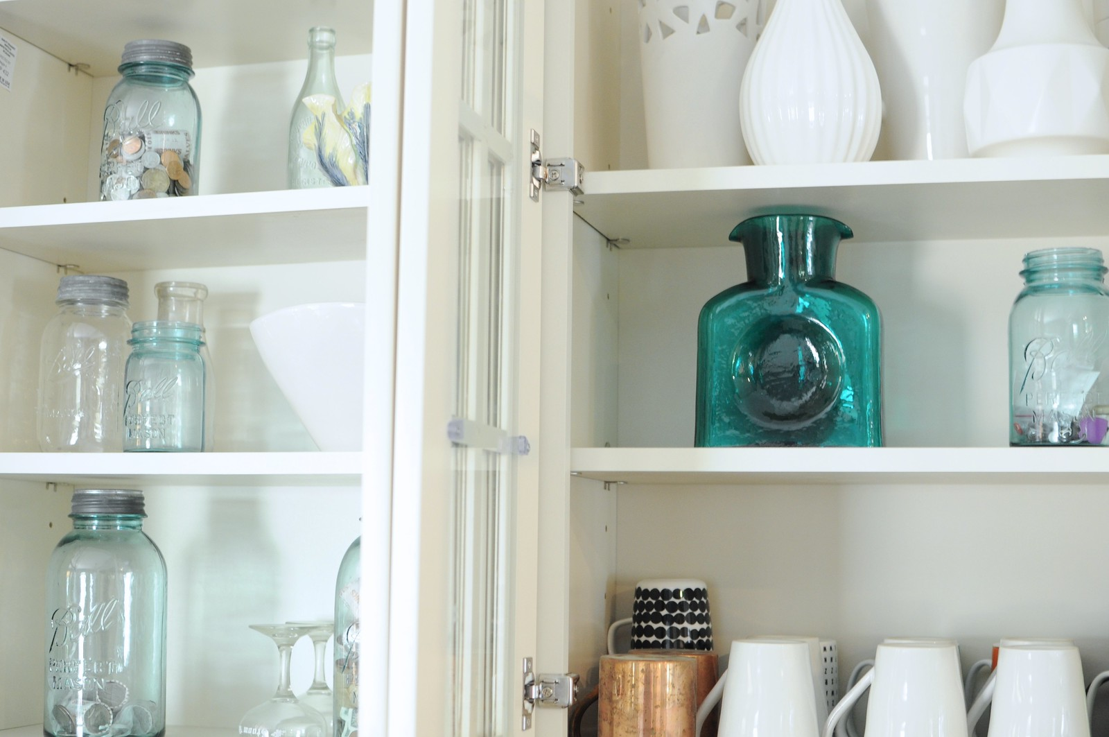 Organizing the Kitchen Hutch