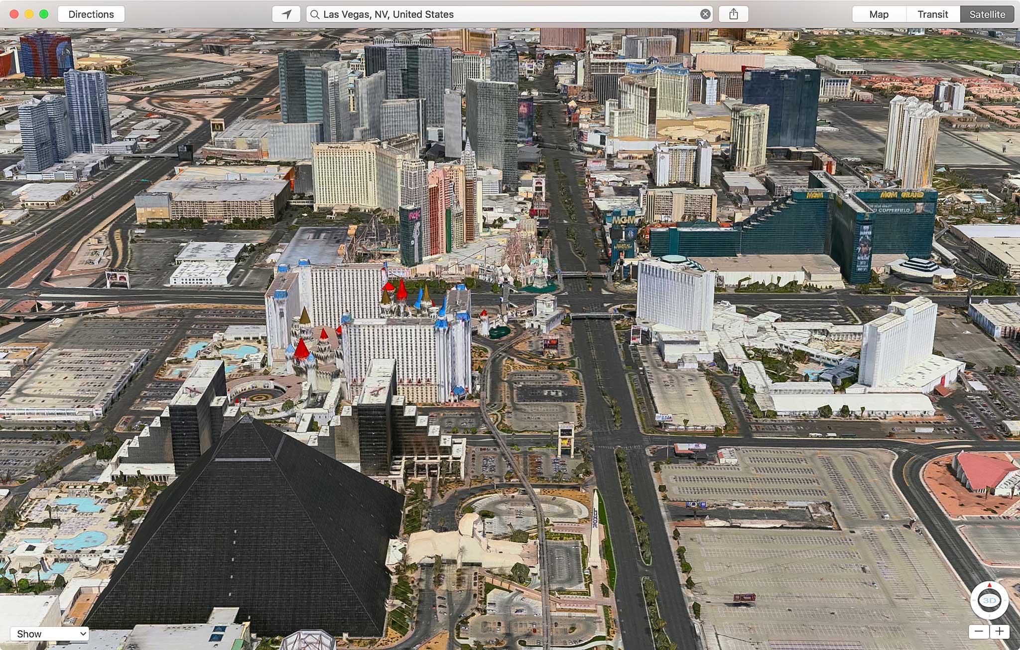 Las Vegas, Mỹ.