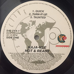 RAJA-NEE:HOT & READY(LABEL SIDE-A)