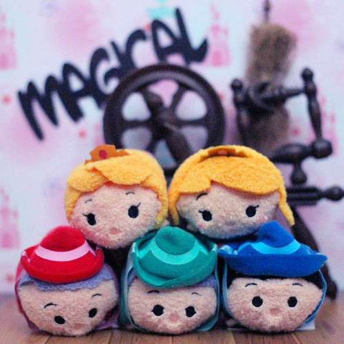 Sleeping Beauty Tsum Tsum's