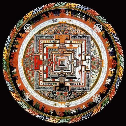 Kalachakra Mandala. From International Kalachakra Network