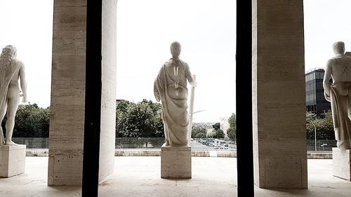 Roma: palazzo della civiltà romana