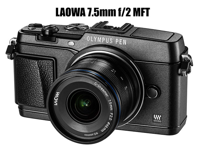 LAOWA 7.5MM F/2 FOR M4/3