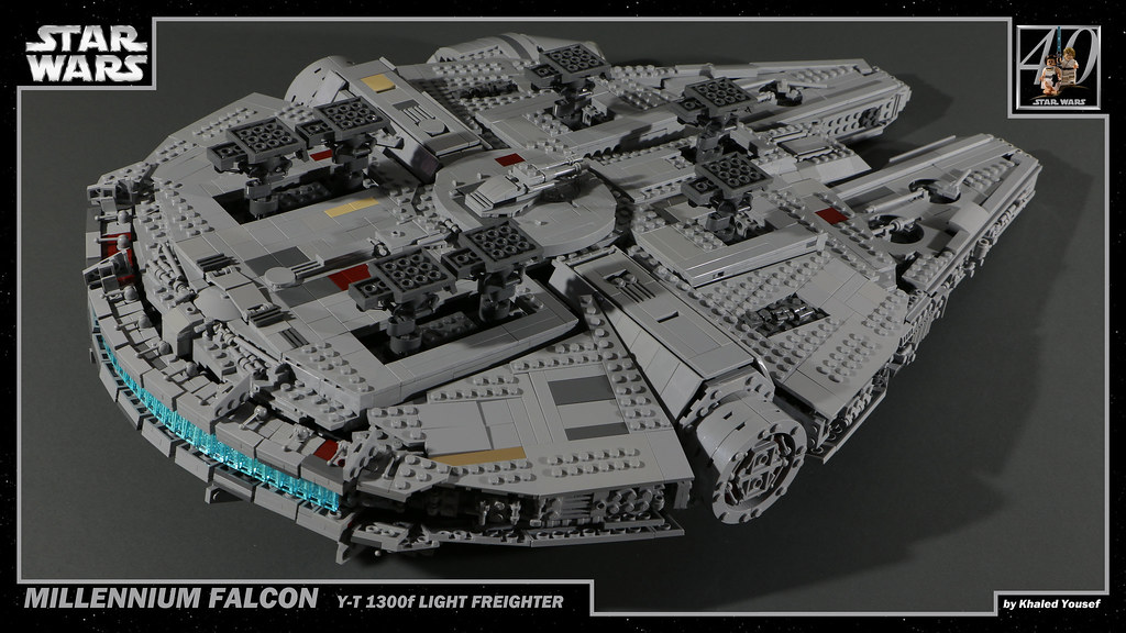 LEGO Star Wars - Millennium Falcon 10 4K | Khaled Yousef | Flickr