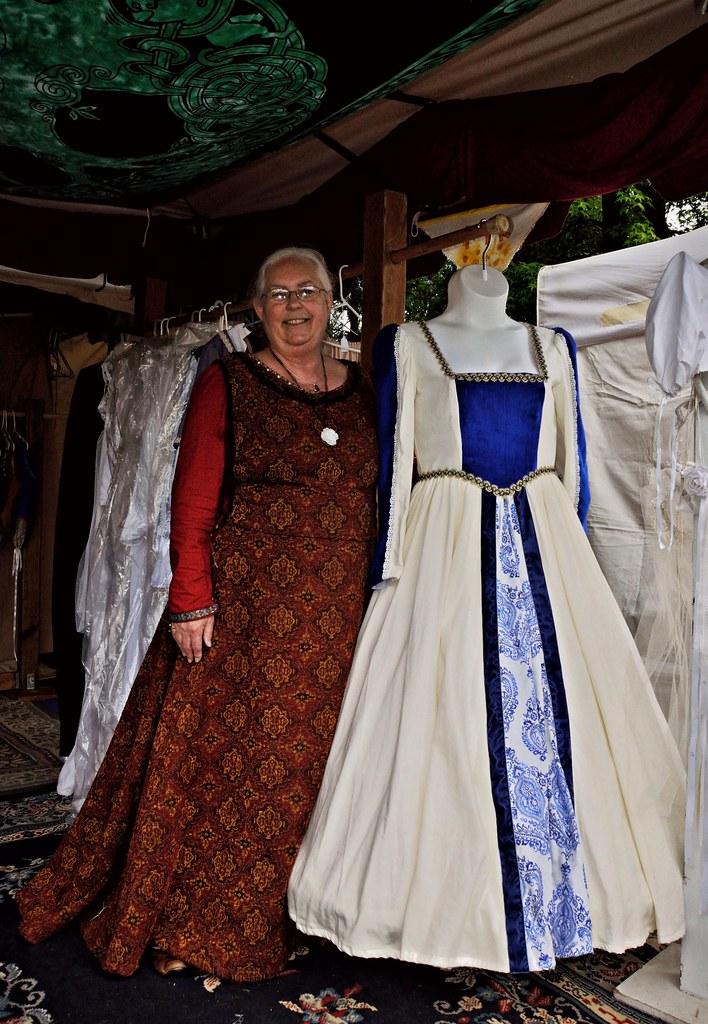 Dressmaker and Tudor dress 6 4 2017 | The dressmaker at Myst… | Flickr