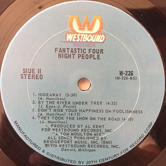 FANTASTIC FOUR:NIGHT PEOPLE(LABEL SIDE-B)